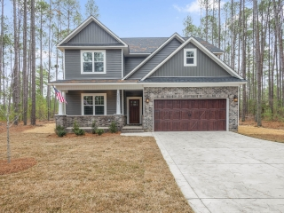 Deercroft Wooded lot with New Home for Sale