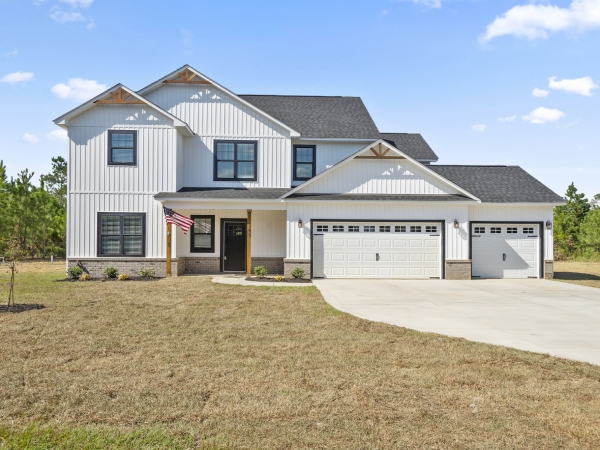 2 story home with 3 car garage