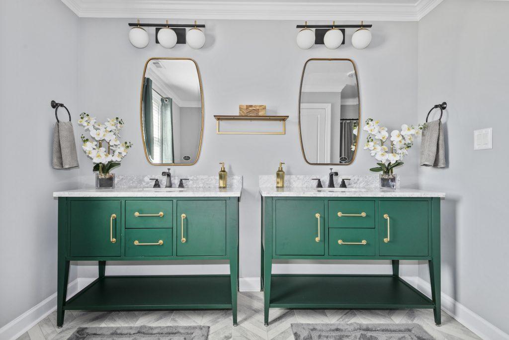 custom home bathroom vanities